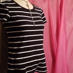 D Weekend Bold Striped Blouse